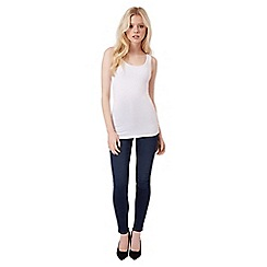 Jane Norman - White bust shelf support vest top