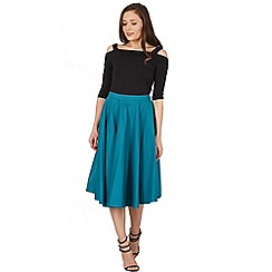 Lindy Bop - Green peggy sue full circle skirt