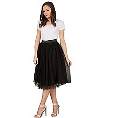 Lindy Bop - Black edie tutu skirt