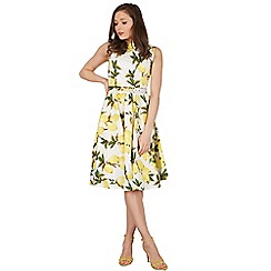 Lindy Bop - Yellow audrey swing dress
