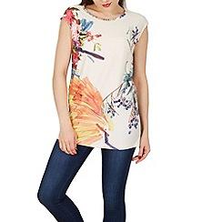 Solo - Multicoloured bellina printed top