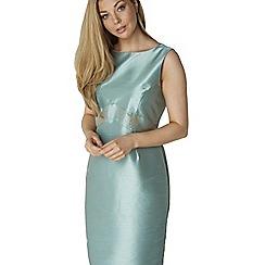 Roman Originals - Aqua jacquard shift dress