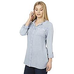 Roman Originals - Light blue light denim shirt