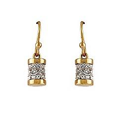 Buckley London - Gold primrose hill drop earrings