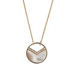 Buckley London - Gold Astoria pendant