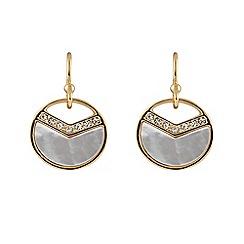 Buckley London - Gold Astoria earrings