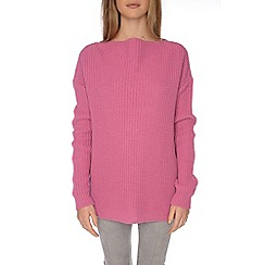 Alice & You - Pink knitted backless jumper