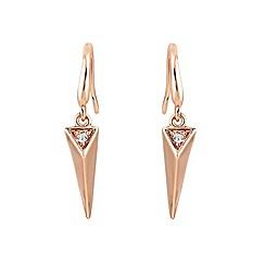 Buckley London - Gold Islington short drop earrings