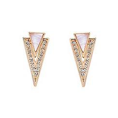 Buckley London - Light gold hackney earrings