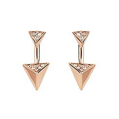 Buckley London - Gold Islington two part earring