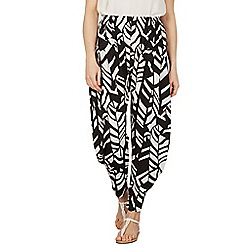 Izabel London - Multicoloured chevron print pants