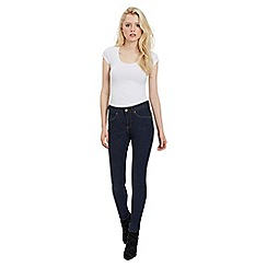 Jane Norman - Navy dark wash skinny bum lift jeans