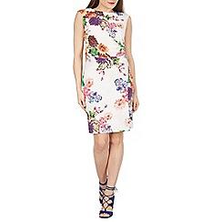 Solo - White Clarissa floral dress