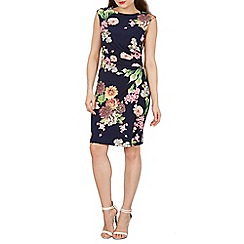 Solo - Navy Clarissa floral dress