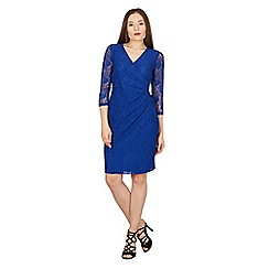 Solo - Mid blue lace Isabella dress