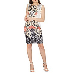 Izabel London - Multicoloured printed shift dress