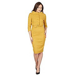 Lindy Bop - Mustard Maybelle twin set