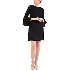 Alice & You - Black flute sleeves dress