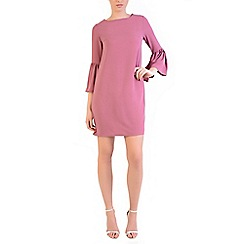 Alice & You - Dark pink flute sleeves dress
