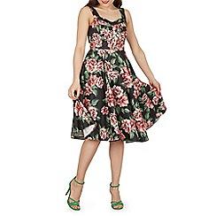 Izabel London - Multicoloured strappy floral printed dress