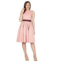 Lindy Bop - Pale pink audrey swing dress