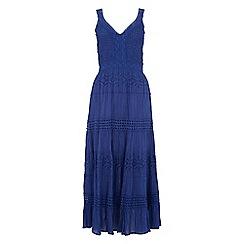 Roman Originals - Royal shirred panelled dress