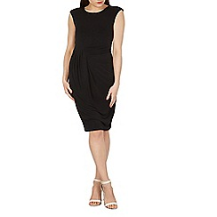 Izabel London - Black embellished neck occasion dress