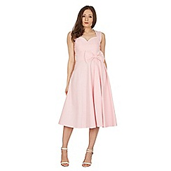 Lindy Bop - Pink grace swing dress