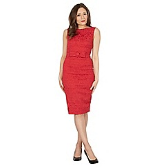 Lindy Bop - Red Maybelle twin set