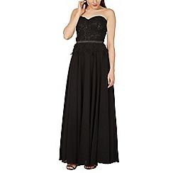 Izabel London - Black sweetheart neck occasion dress