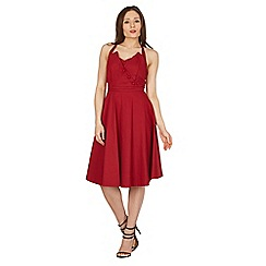 Lindy Bop - Red myrtle swing dress