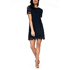 Alice & You - Navy lace shift dress