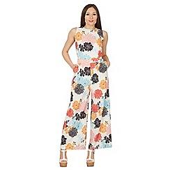 Tenki - Multicoloured sleeveless patterned jumpsuit