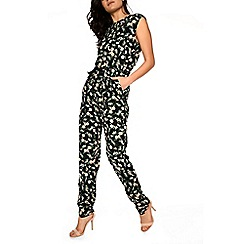 Alice & You - Black printed jumpsuit