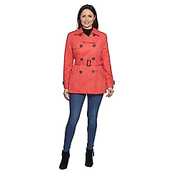 David Barry - Red trench jacket