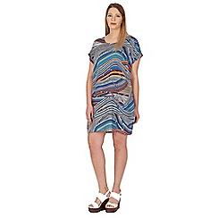 Samya - Multicoloured t-shirt dress