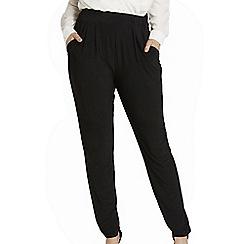 Roman Originals - Black ity hareem trousers