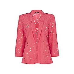 Roman Originals - Pink lace jacket