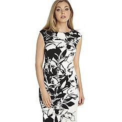 Roman Originals - Black floral print dress