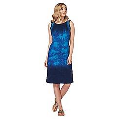 Roman Originals - Blue tie dye dress
