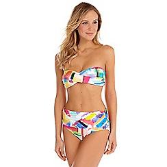 Seaspray - Multicoloured Genevieve paintbox bikini