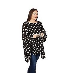 Feverfish - Black polka dot tunic