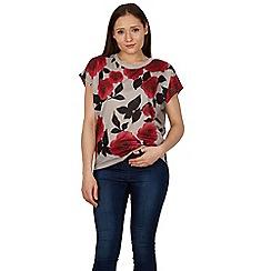 Izabel London - Multicoloured floral print t shirt top