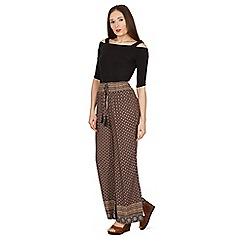 Stella Morgan - Multicoloured wide leg print pants