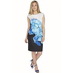 Roman Originals - Multicoloured floral print scuba dress