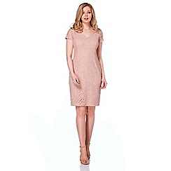 Roman Originals - Rose v-neck lace dress
