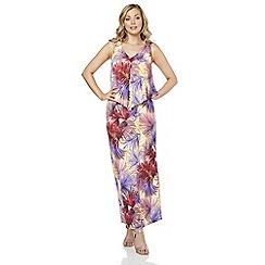 Roman Originals - Multicoloured tropical maxi dress