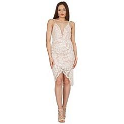 Stella Morgan - White sleeveless lace dress