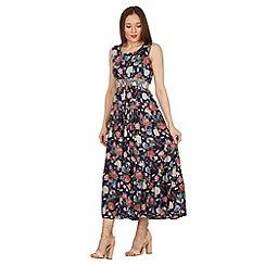Stella Morgan - Navy floral print maxi dress