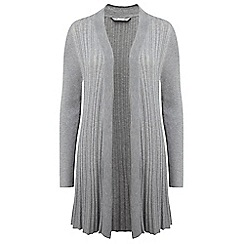 Lavitta - Grey small rib cardigan